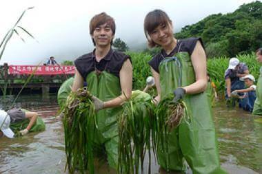 2012年6月份志工快訊:參加工作假期-清...