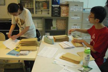 2012年5月份志工快訊:感謝五月志工夥伴...