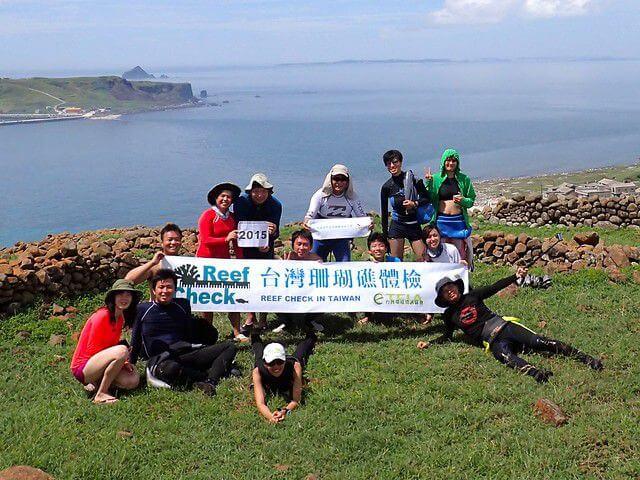 2015澎湖東西嶼坪珊瑚礁體檢成果