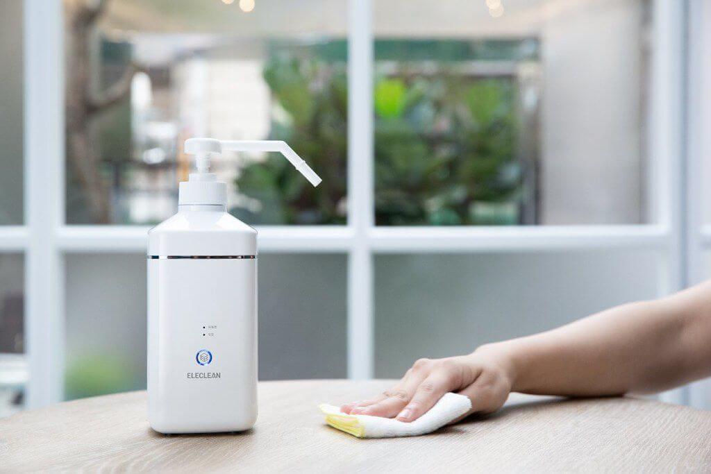 水等於消毒水? 創淨科技首創全球第一款環保...
