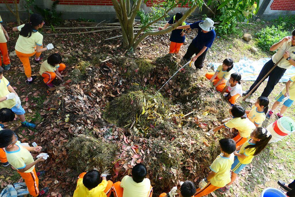 自然講堂 | 落葉堆肥怎麼做?