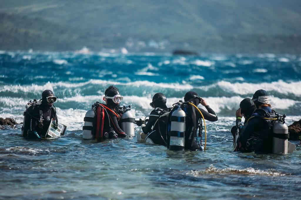 2021珊瑚礁體檢行程