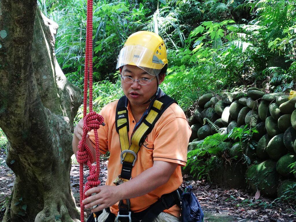 「攀樹基本功」志工課程記錄6