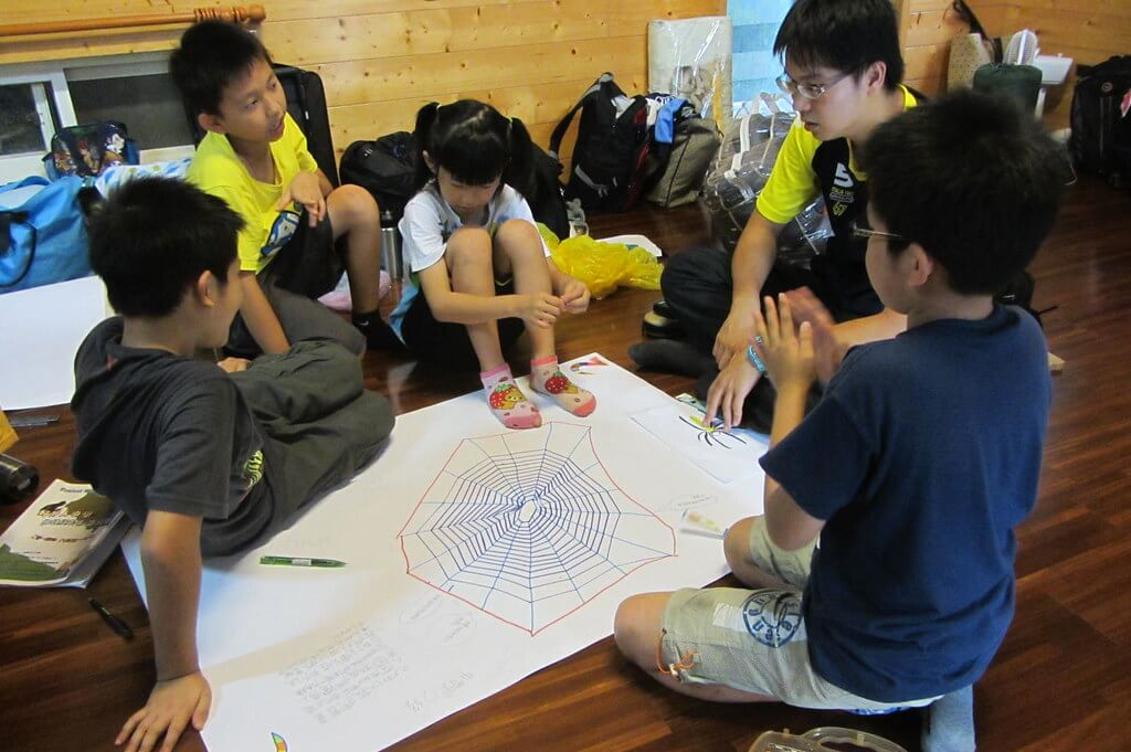 好野人小學--蜘蛛網的秘密探險夏令營